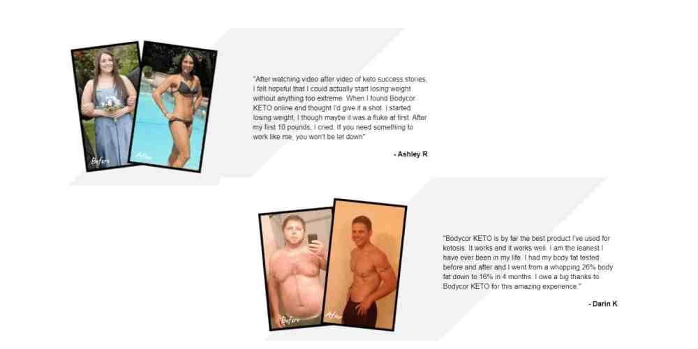 BodyCor Keto customer reviews