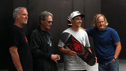 George Powell, VCJ, Jordan Hoffart, Stacy Peralta