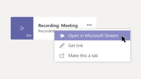 Bản ghi cuộc họp Microsoft Teams