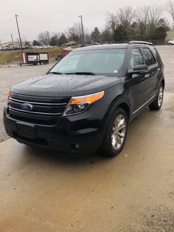 2012 FORD EXPLORER LIMITED AWD 4DR - LEATHER - ALLOY - CD - NAV - ALL POWER BLACK - 105307 MILES VIN-1FMHK8F85CGA24536 CASE #2:17-BK-51509-MPP