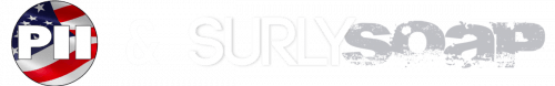 Powell and Surly Soap logo