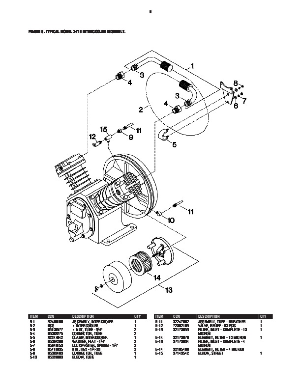 Ingersoll Rand Spare Parts List
