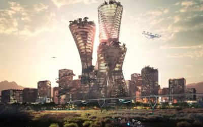 This Billionaire is Building A Futuristic Utopia, But You Must Apply to Live There. Here's What to Expect.