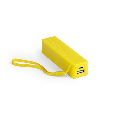 Power Bank Keox-jaune-2000-mAh