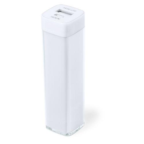 Power Bank Sirouk-blanc-2000-mAh