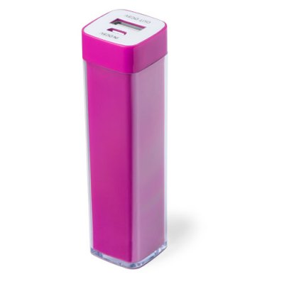 Power Bank Sirouk-fushia-2000-mAh