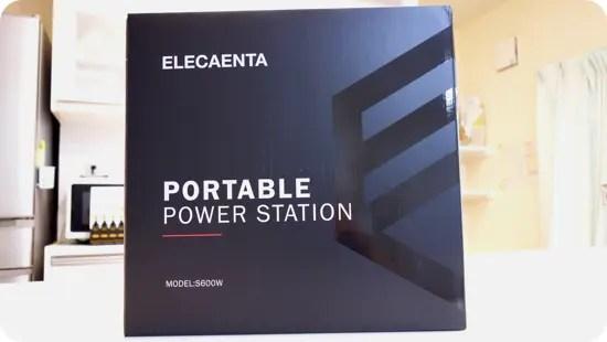 ELECAENTA(エレカンタ) S600W 実機レビュー