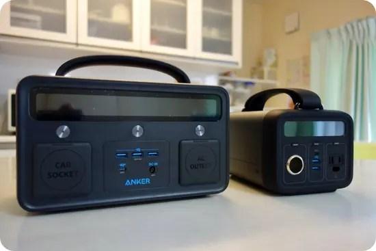 Anker PowerHouse II 400とAnker PowerHouse200