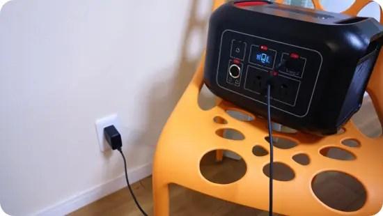 【実機レビュー】シャオミ系ポータブル電源「miLIn」軽量だけどドライヤーが使える!