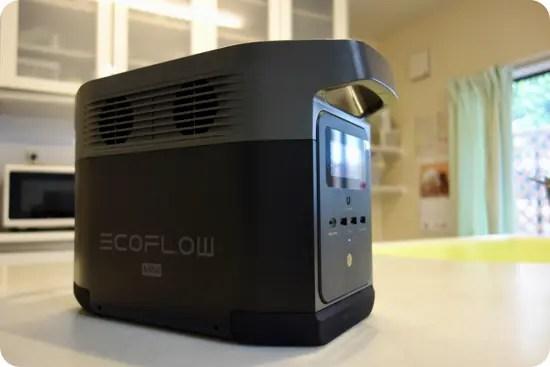 EcoFlow DELTA miniの写真レビュー