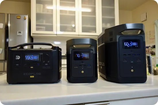 EcoFlow既存製品との比較(EFDELTA・RIVERシリーズ)