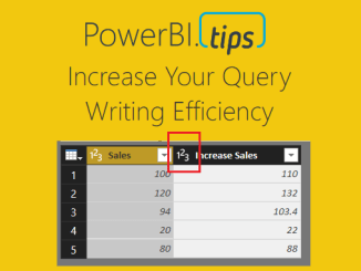 Increase Query Efficiency