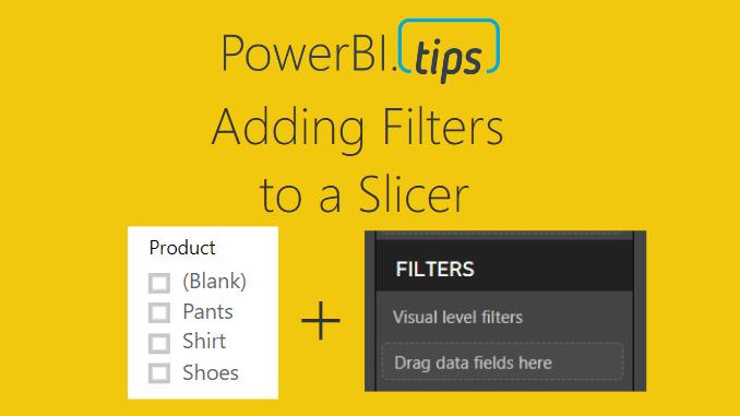 Filter a Slicer