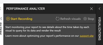 Power BI Performance Analyzer – SQL Server Business