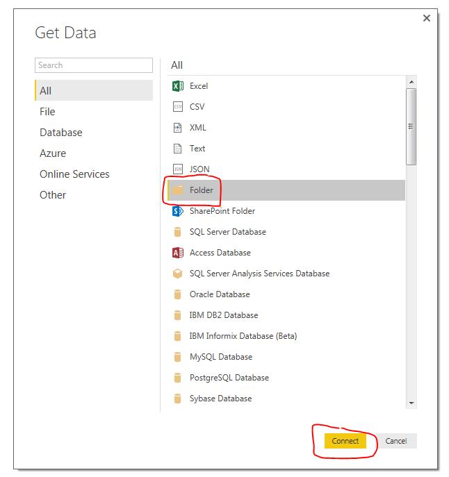 Get Folder Data