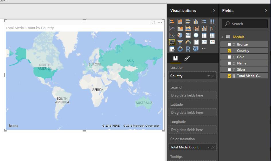 Map Visual