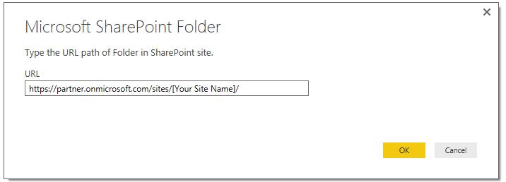 Enter Shortened Site URL