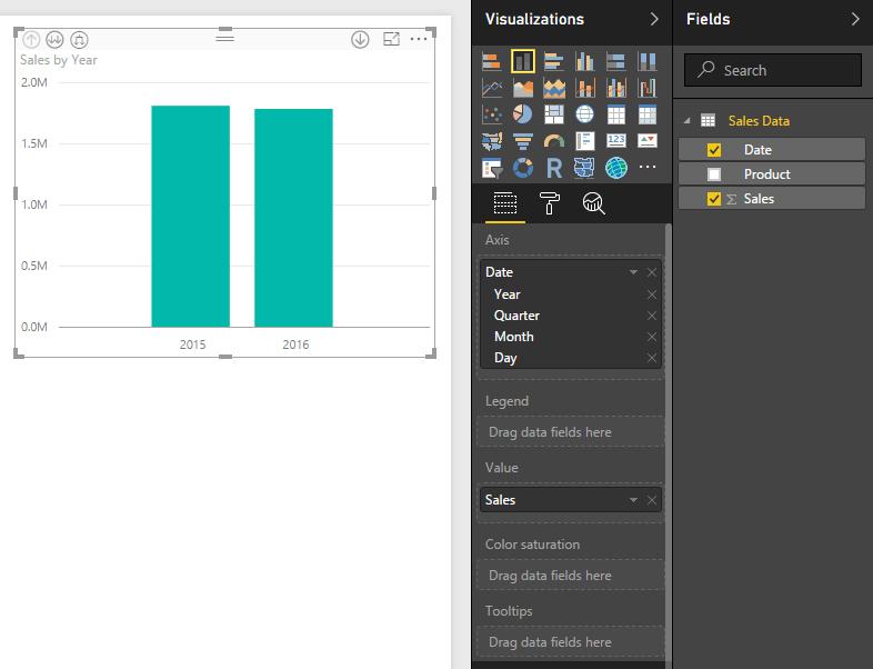 Add Bar Chart