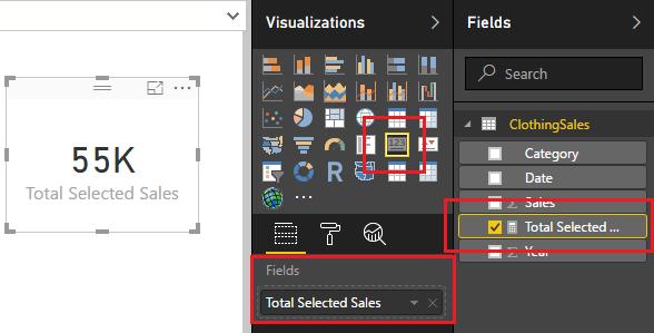 Add Card Visual