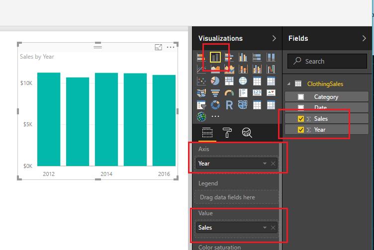 Create Bar Chart
