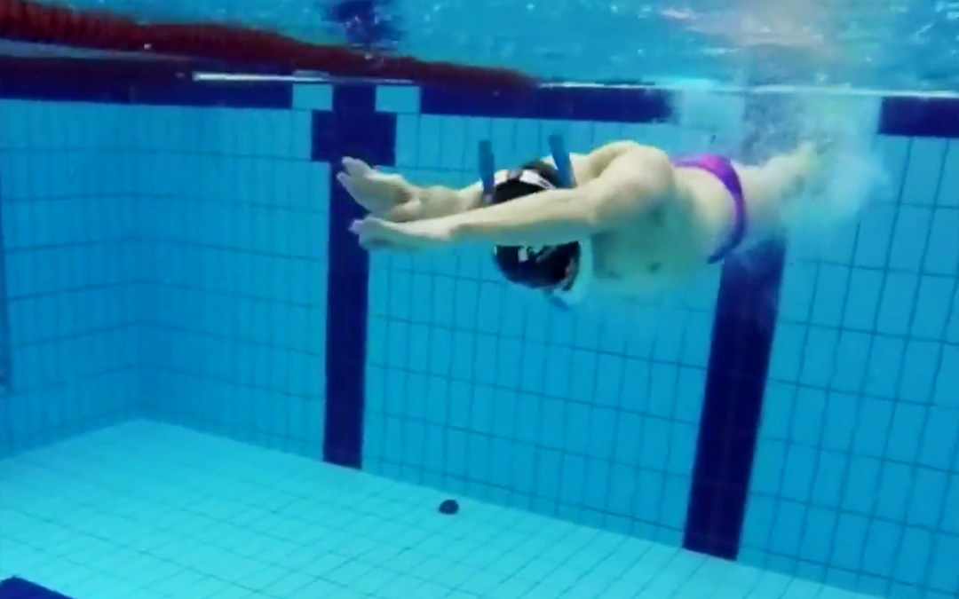 Coaching tips for flip turns with the Powerbreather training snorkel