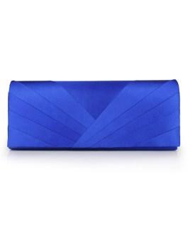 Wedding clutch Pleated Satin Evening handbags