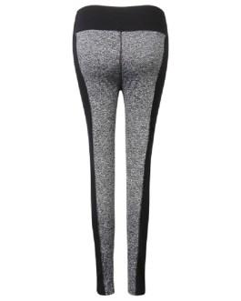 Plus Size Color Block High Elastic Hips Up Work Out Yoga Leggings Pants