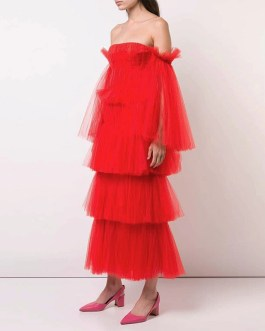 Off Shoulder Long Sleeve Evening Party Club Dress