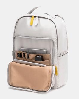Patchwork Waterproof Multifunction Backpack