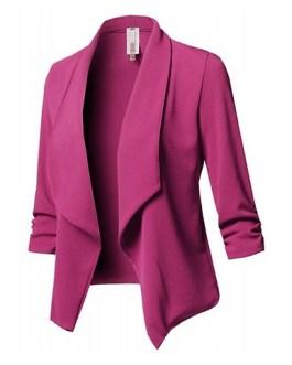 Solid Colored Blazer