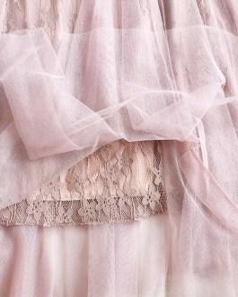 Elegant Holiday Midi Stiching Skirts