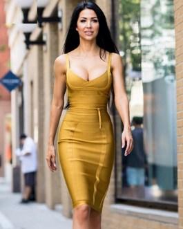 Mini Tight Knitted Sexy Plus Size Bodycon Vestido