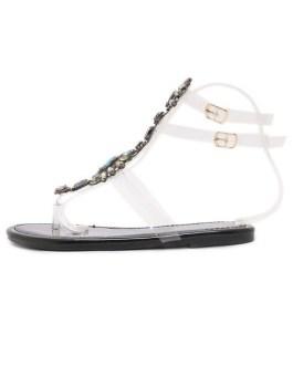 Sandals Transparente Beach Sandals Flat Women's Shoes