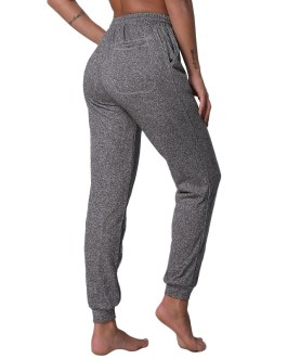 Yoga Drawstring Workout Sports Athletic Pants With Pockets