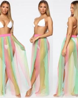 Beachwear Wrap Skirts Bikini Cover Up