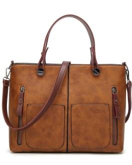 Drop Shipping Vintage Causal Totes High Quality Dames Handbags