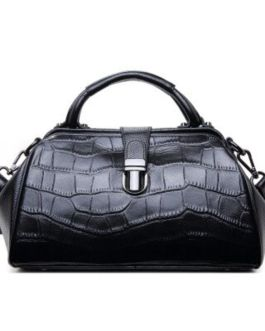 Shoulder High Quality Crocodile Pattern Leather Handbags
