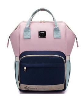 Large Storage Travel Waterproof Antifouling Solid Backpack