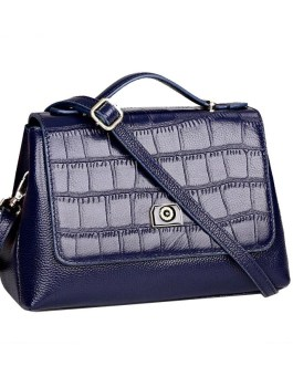Leather Cross body Solid Casual Messenge Bag