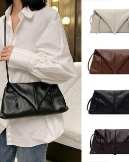New Cloud Bag Fold Bag Leather Bag Single-shoulder Envelope Clutch Bag