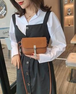 PU Leather Messenger Crossbody Bags Tassels Small Satchel