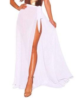 Wrap Swimsuit Beach Cover Up Skirt