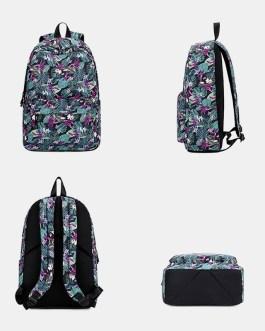 Large Capacity Print Waterproof Backpack School Bag