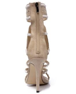 Stiletto Heel Chic Square Toe Sandals