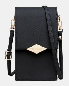 Card Slots Hasp Crossbody Shoulder Bag