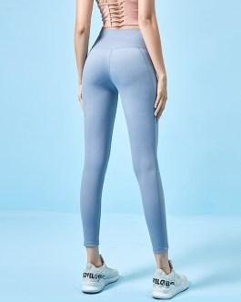 Pure Color Lightweight High Waist Yoga Leggings