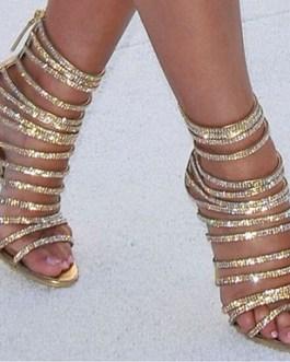 Gladiator High Heel – Strappy / Narrow Heel