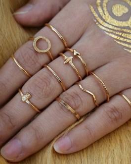 Geometric Cross Multilayer Rings Set