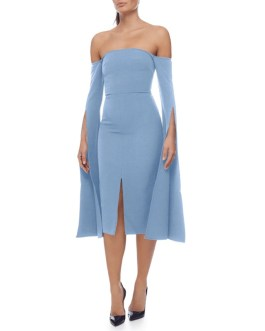 Sexy Off Shoulder Sleeve Club Party Bandage Dress