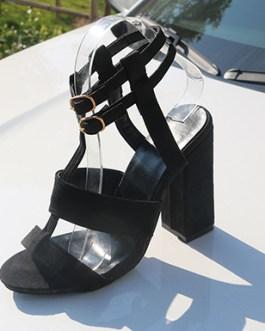 T-Strap Sandal – Double Buckles